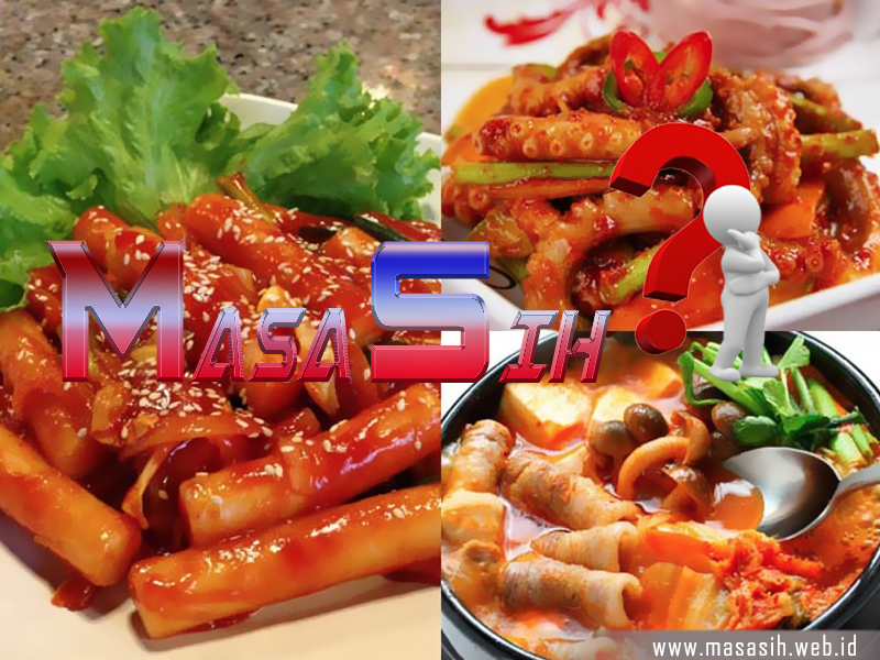 5 Makanan Pedas Dari Korea Yang Lezat Dan Enak