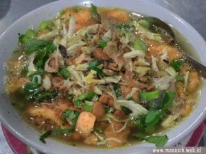 Kuliner Khas Cirebon Bubur Sop.