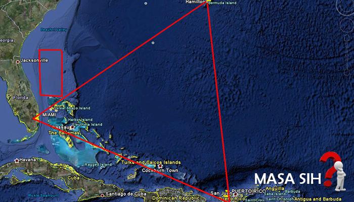 Misteri Terungkap Segitiga Bermuda