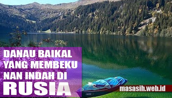 Danau Baikal yang Membeku