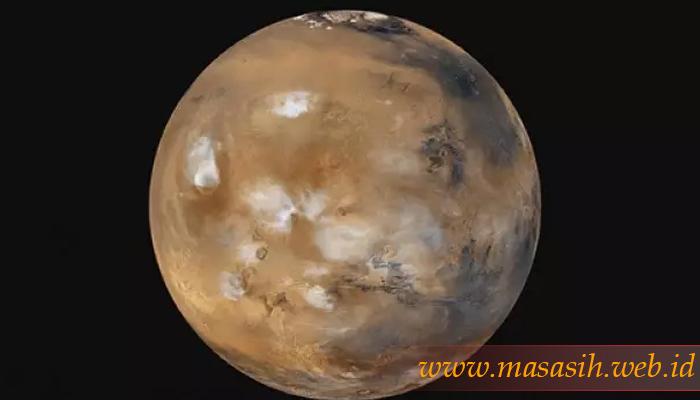 Membingungkan, Mars Mempunyai Awan Misterius