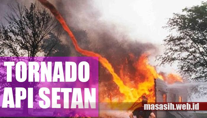 Tornado api setan
