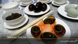 Makanan Unik Dari China